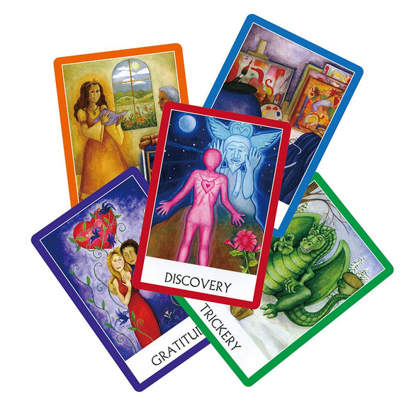 2019 Chakra wisdom oracle cards deck, 49 cards, English tarot cards guidance divination fortune board game