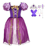 Halloween Cinderella Dress Costume Kids Dresses For Girls Elsa Dress Vestidos Children Snow White Princess Dress Rapunzel Aurora