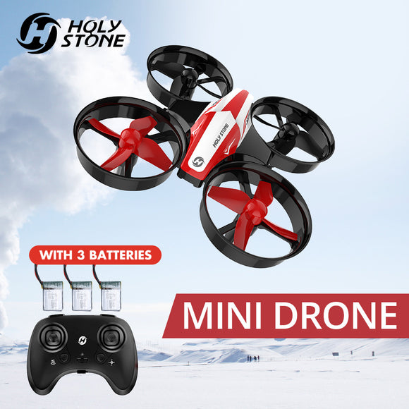 Mini RC Drone Toy Headless Drones Mini RC Quadrocopter Quadcopter Dron One Key Land Auto Hovering Helicopter - 88digital