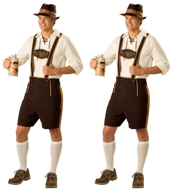 German Beer Man and Women Costume Adult Oktoberfest Costume And Mens Cosplay Costumes plus size M L XL XXL disfraces adultos - 88digital