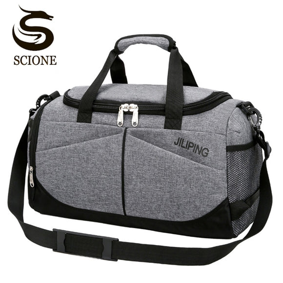 Men Travel Handbag Large Capacity Female Women Luggage Travel Duffle Bags Male Canvas Big Travel Folding Trip Shoulder Bag - 88digital