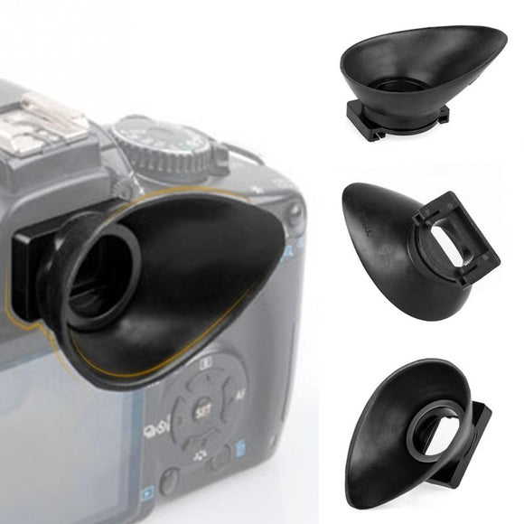 Camera Rubber Eyepiece Eyecup for Canon 550D/300D/350D/400D/60D/600D/500D/450D DSLR Camera Eye Cup Accessories 18mm - 88digital
