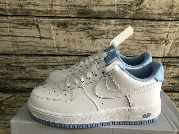 Nike Air Force 1 '07 AF1 07 Low White Hydrogen Blue Women Sneakers Shoes Size 36-40 / 5.5-8.5 CD6915-103