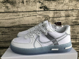 Nike Air Force 1 '07 AF1 07 Low React White Ice White / Light Bone Sail Rush Coral Men Women Sneakers Shoes Size 36-45 / 5.5-11 CQ8879-100