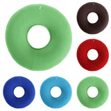 Inflatable Vinyl Ring Round Seat Cushion Medical Hemorrhoid Pillow Donut Free Pump Rubber Inflatable Seat Pad 34*12 cm #125 - 88digital