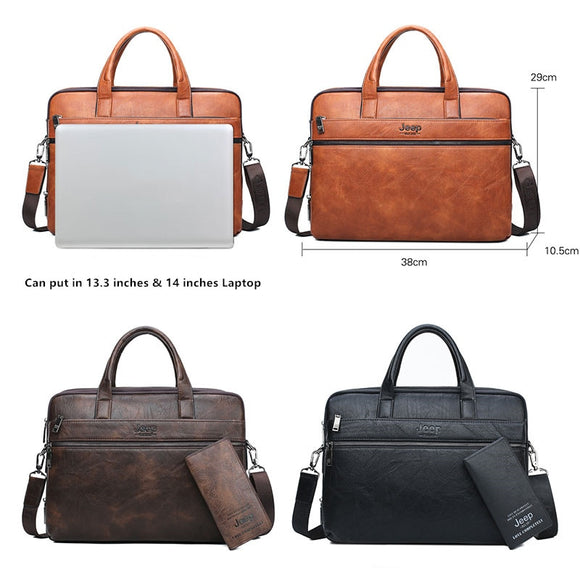 Men's Briefcase Bags For 14