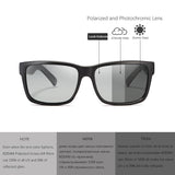 KDEAM Revamp Of Sport Men Sunglasses Polarized Shockingly Colors Sun Glasses Outdoor Driving Photochromic Sunglass With Box - 88digital