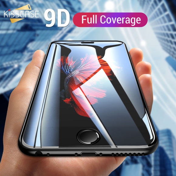 KISSCASE 9D Tempered Glass For Samsung Galaxy A5 2017 A8 A6 Plus 2018 HD Protective Glass For Samsung Note 10 A3 A520 A6 A8 2018 - 88digital