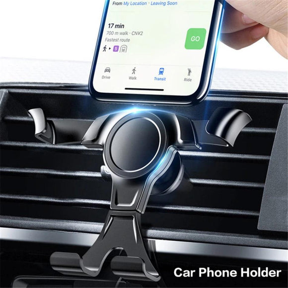 KISSCASE Gravity Car Phone Holder For Phone in Car Air Vent Mount Stand Universal Phone Car Holder For iPhone Samsung Support - 88digital