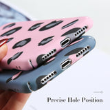 KISSCASE Leopard Print Phone Case For iPhone 7 6 6s 8 Plus Luxury Luminous Case For iPhone X XS Max XR 5 5S SE Hard Covers Coque - 88digital