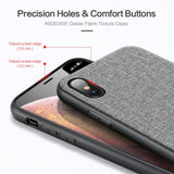 KISSCASE Retro Fabric Phone Case for iPhone 7 8 6 6S Plus X Cover PU Leather Cases For iPhone 11 Pro MAX X XS Max XR Soft Fundas - 88digital