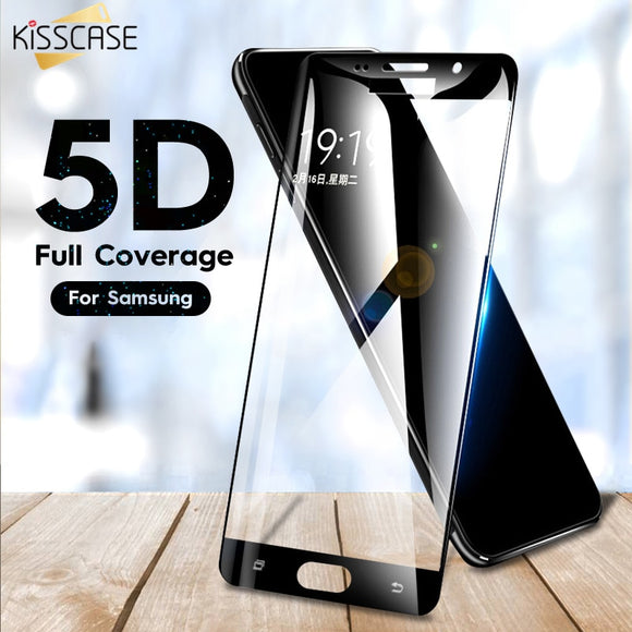 KISSCASE Tempered Glass on the for Samsung A5 A7 A3 2017 A6 2018 Protective Glass For Samsung J3 J5 J7 A5 2017 Screen protector - 88digital