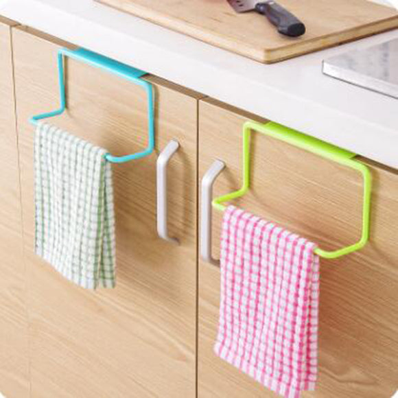 Kitchen Over Door Organizer bathroom shelf towel Cabinet Cupboard Hanger Shelf - 88digital