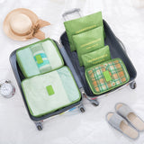 LIYIMENG 6Pcs/Set Travel Storage Bag Home Organizer Box For Clothes Tidy Pouch Suitcase Clothing Divider Container Outdoor Boxes USA - 88digital
