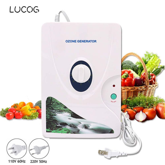 600mg/h Ozone Generator Ozonator Air Purifier Wheel Timer Vegetable Fruit Meat Air Ionizer Sterilizer 220V or 110V - 88digital