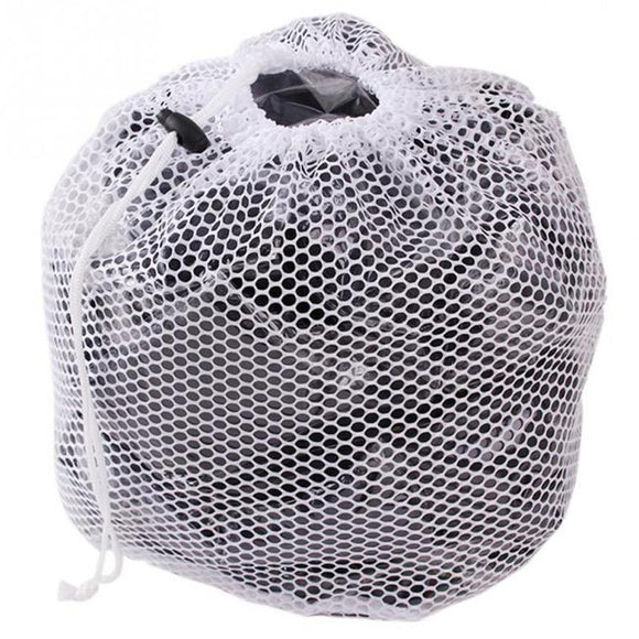 Laundry Mesh Bags Drawstring Net Laundry Saver Mesh Washing Pouch Strong Washing Machine Thicken Net Bag - 88digital