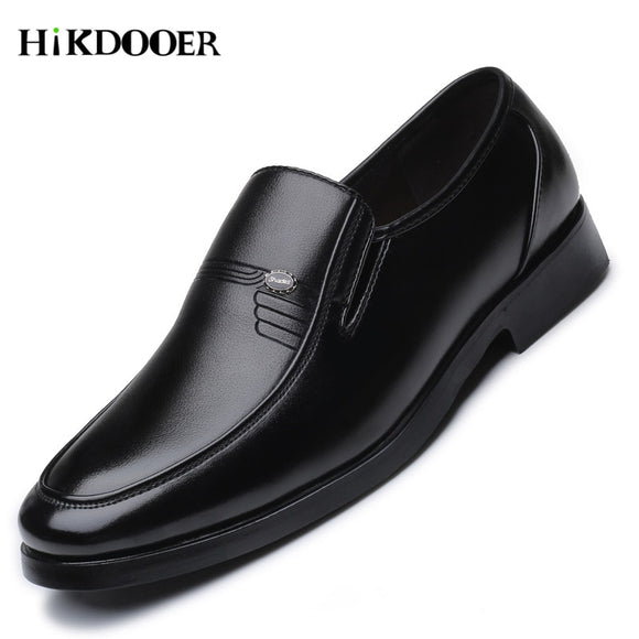 Luxury Brand Men Leather Formal Business Shoes Male Office Work Flat Shoes Oxford Breathable Party Wedding Anniversary Shoes - 88digital
