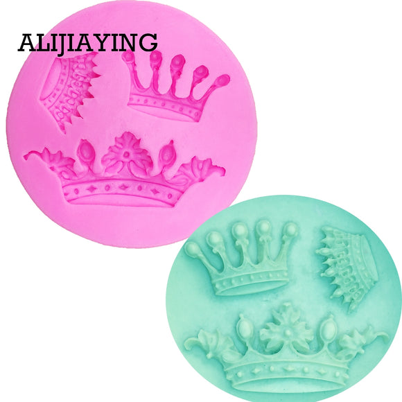 Crown Shape Silicone Mold,Cake Chocolate Kitchen Baking Mould - 88digital