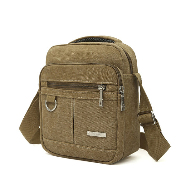 Men's Fashion Travel Cool Canvas Bag Men Messenger Crossbody Bags Bolsa Feminina Shoulder Bags Pack School Bags for Teenager - 88digital
