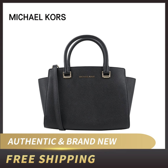 Original Authentic Michael Kors Selma Medium Satchel Saffiano Leather Bag 35H8GLMS2L ship by USPS USA - 88digital