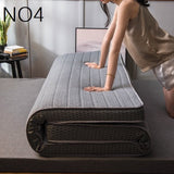 Natural latex Memory sponge filling stereoscopic Breathable Thicken 10 cm mattress Single double size - 88digital