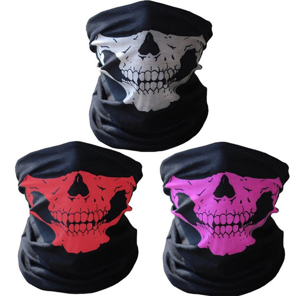 Arrial Seamless versatile magic scarf Riding mask Warm scarf Halloween props Many Color - 88digital