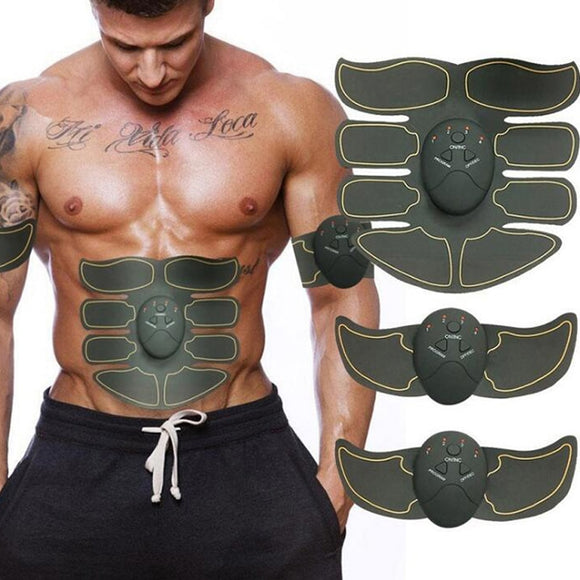 New Smart EMS Muscle Stimulator ABS Abdominal Muscle Toner Body Fitness Shaping Massage Patch Sliming Trainer Exerciser Unisex - 88digital