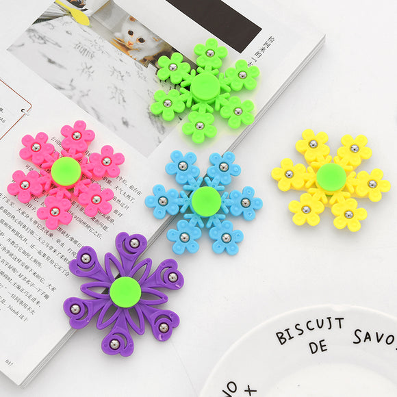 New Snowflake Fidget Spinner Hand Spinners Birthday Present Kids Christmas Gifts Finger Toys Spinners - 88digital