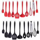 Non-stick Baking Cookware Set Silicone Cooking Gadgets Spatula Spoon Kitchen Utensils DIY Cooking Tools - 88digital