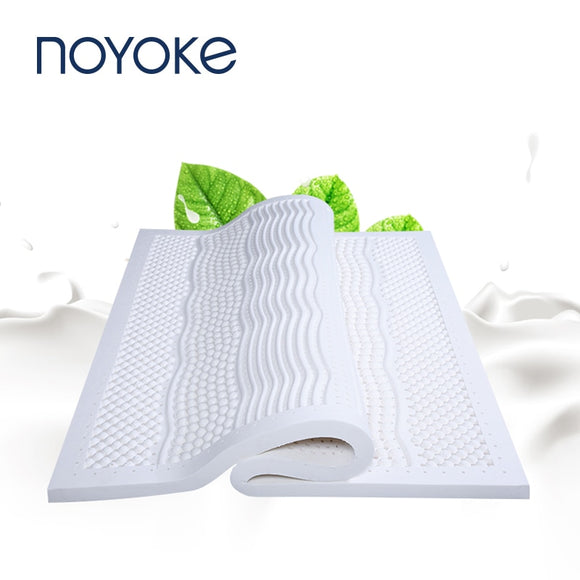 Bedroom Furniture Latex Mattress Seven Spots Massage Mattresses Topper Tatami Bed Mat Foam Mattress - 88digital