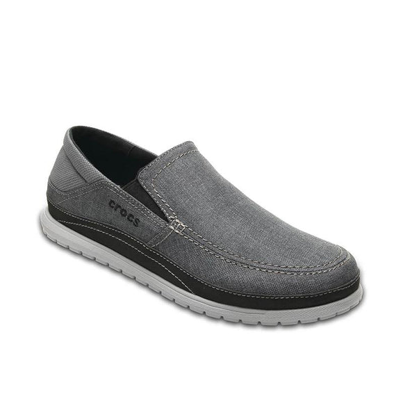 Crocs men's shoes 19 new Carlock hundred flat canvas shoes casual lazy shoes 204835 - 88digital