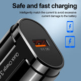 OLAF 18W QC 3.0 USB Charger Wall Charger EU US UK Quick Charging 4.0 3.0 Phone Fast Adapter Chargers for Samsung A50 Xiaomi mi 9 - 88digital