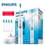 Original PHILIPS HX6730/02 Waterproof Sonic toothbrushes Rechargeable Toothbrush Adult Deep Clean Mode with  5 Brush Head - 88digital