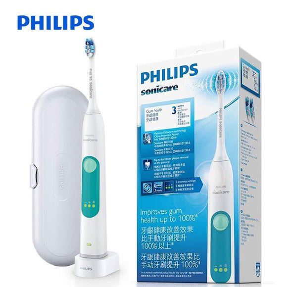 Original PHILIPS HX6631/01 Sonic Electric Toothbrush Rechargeable Tooth Brushes for Adult Whitening Healthy snap-in brush head waterproof - 88digital