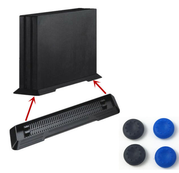 PS4 Pro Vertical Stand Mount Dock Holder Base Cradle Support Storage Foothold Steady For Sony PlayStation 4 Pro PS 4 Pro Console - 88digital