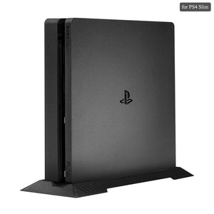PS4 Slim Vertical Stand for Playstation 4 Slim with Built-in Cooling Vents and Non-slip Feet Steady Base Mount - 88digital