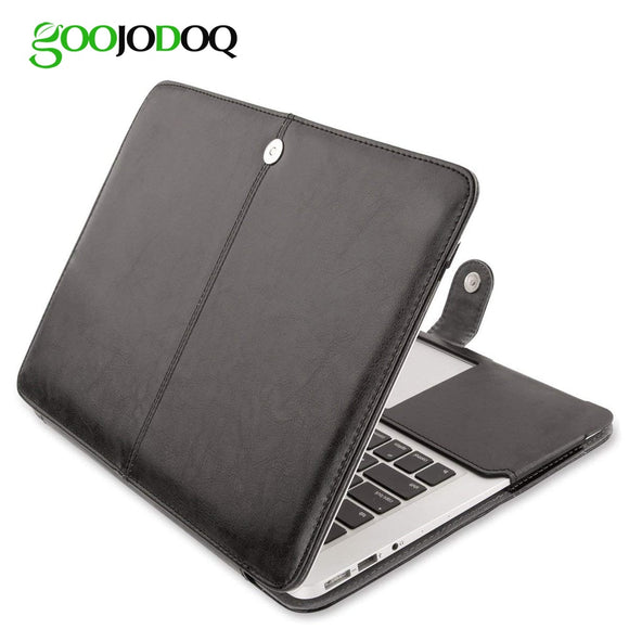 PU Leather Case for Macbook Air 11 Air 13 Pro 13 Pro 15'' New Retina 12 13 15 Case Cover for Apple Macbook 14