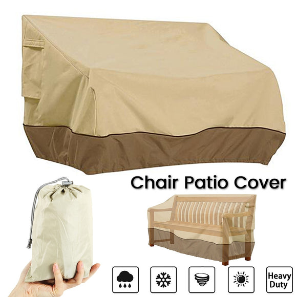 Patio Furniture Cover Outdoor Yard Garden Chair Sofa Waterproof Dust Cover Sun Protection Oxford Cloth Foldable Drawstring Table - 88digital