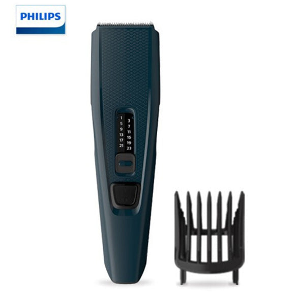 Original Philips Hairclipper series 3000 Hair Clipper with Stainless steel blades,13 length settings,Corded use HC3505/15 - 88digital