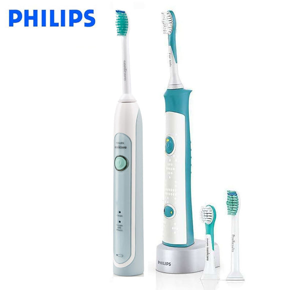 Original Philips Sonicare Family set HX6314 electric toothbrush waterproof for parent-child rechargeable with charging base - 88digital