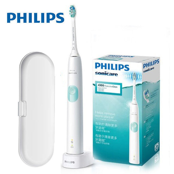 Original Philips Sonicare Protective Clean Sonic electric toothbrush Built-in pressure sensor,1 cleaning mode,1 x BrushSync feature HX6809 - 88digital