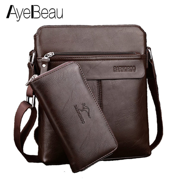 Portable Business Hand Work Office Male Messenger Bag Men Briefcase For Document Handbag Satchel Portfolio Handy Portafolio - 88digital
