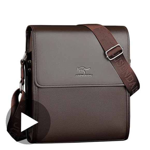 Portable Hand Work Business Office Male Messenger Bag Men Briefcase For Document Handbag Satchel Portfolio Bussiness Partfel Bag - 88digital