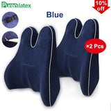 Memory Foam Waist Lumbar Side Support Pillow Spine Coccyx Protect Orthopedic Car Seat Office Sofa Chair Back Cushion - 88digital