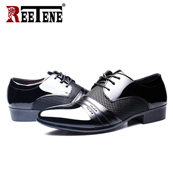 Men'S Dress Shoes Fashion Pu Leather Shoes Men Brands Wedding Oxford Shoes for Men'S Breathable Men Formal Footwear - 88digital