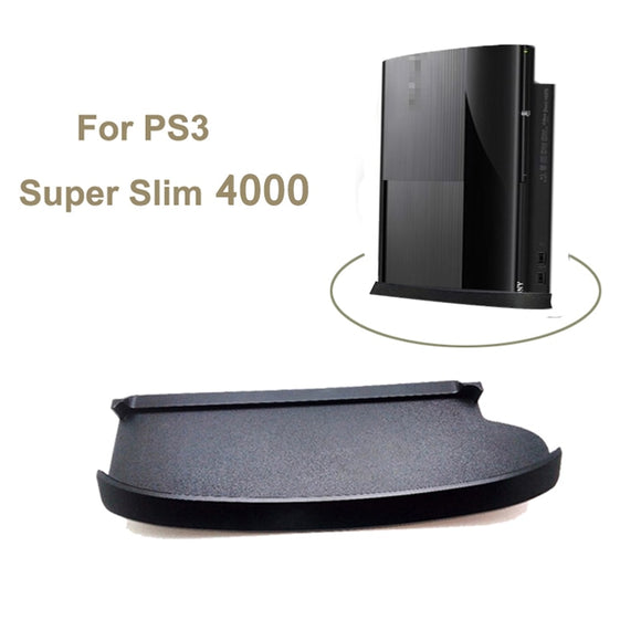 Skid Proof Console Vertical Stand For Sony Playstation Super Slim 4000 Console Game Stand Holder Plastic Base For PS3 Slim 4000 - 88digital