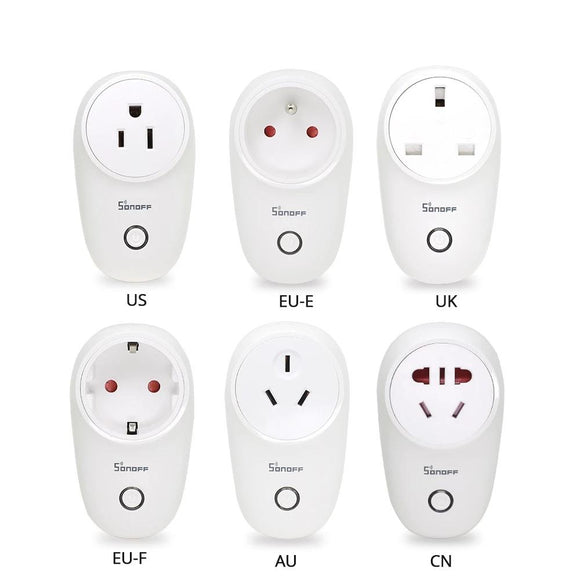 Basic WiFi Smart Socket AU/CN/EU/UK/US Wireless Plug Smart Home Switch Power Sockets Work With Alexa Google Assistant - 88digital