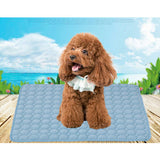 Summer Cool Pad Bed Cooling Chilly Cool Gel Mattress Mat Dog Cat Heat Relief For Pet S M L XL - 88digital