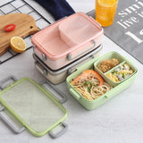 Microwave Lunch Box Independent Lattice For Kids Bento Box Portable Leak-Proof Bento Lunch Box Food Container USA - 88digital