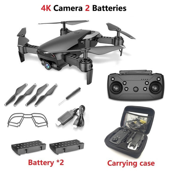 FPV Drone 4K with 1080P Wide-angle WiFi Camera HD Foldable RC Mini Quadcopter Helicopter - 88digital